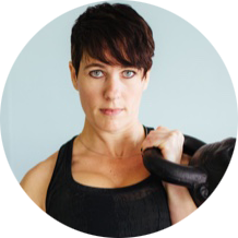 I'm a longtime student of Russian kettlebell training and have been utilizing this powerful practice with everyone from elite athletes to deconditioned individuals who previously didn't like exercising. Thus, I created this program to simplify the learning curve for kettlebell training and above all, help you add an insanely productive practice into your client sessions and your own training.  -Susan Moore, TRX Instructor & Workshop Creator