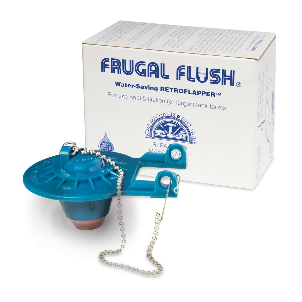 Frugal Flush Retro flapper