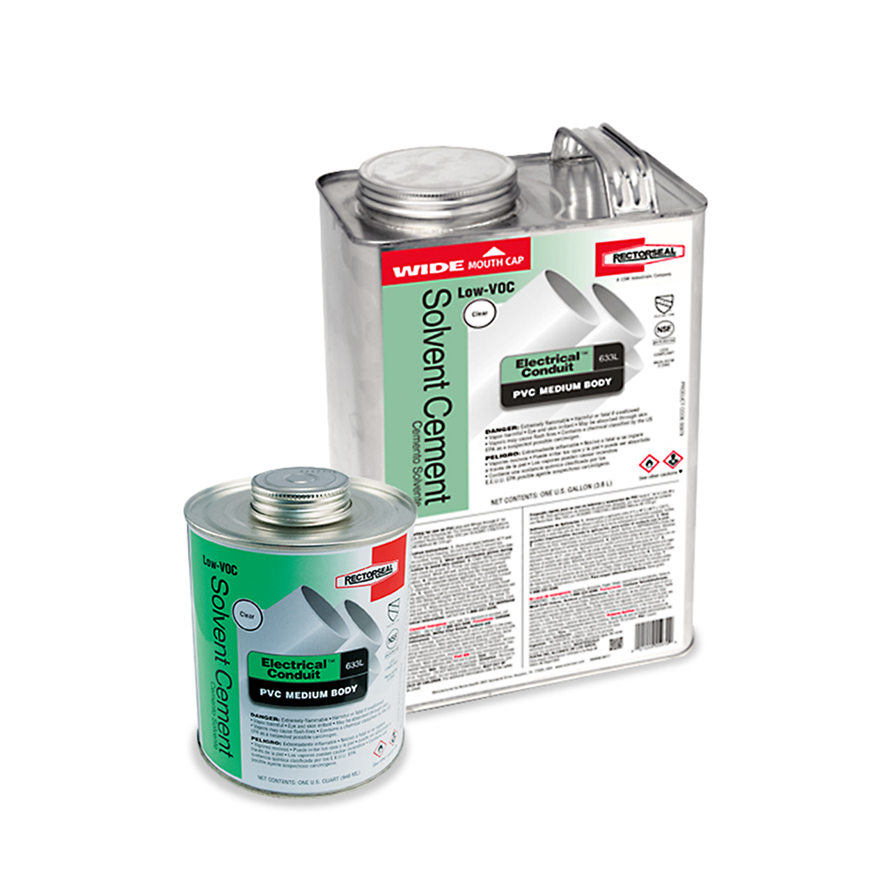 RectorSeal 55985 Quart of Solvent Cement